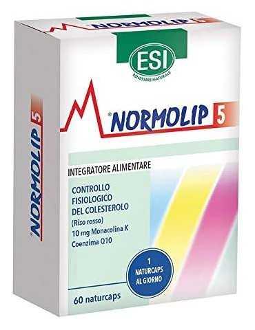 ESI Normolip 5 per il controllo fisiologico del colesterolo 60 capsule 980858308
