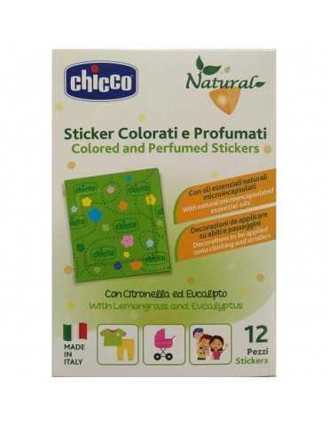 Chicco anti-zanzare 12 sticker profumati 976395881