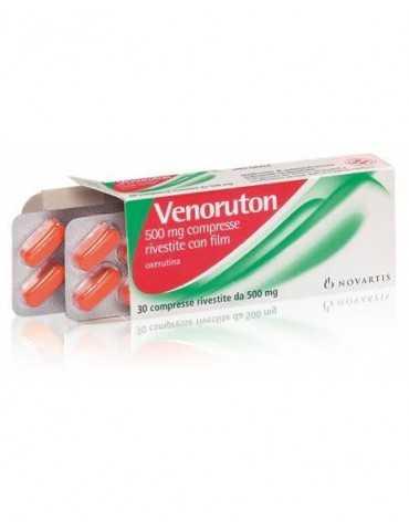 VENORUTON 30 COMPRESSE 500mg 017076148