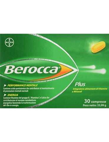 Berocca Plus Integratore di vitamine e minerali 30cpr 903068031