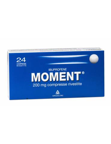 Moment 24 compresse rivestite 200mg Angelini025669072 Angelini