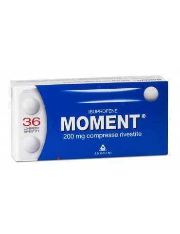 Moment 36 compresse rivestite 200mg ANGELINI SpA 025669185 Analgesici e antinfiammatori
