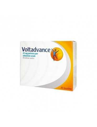 Voltadvance 25 mg 20 bustine