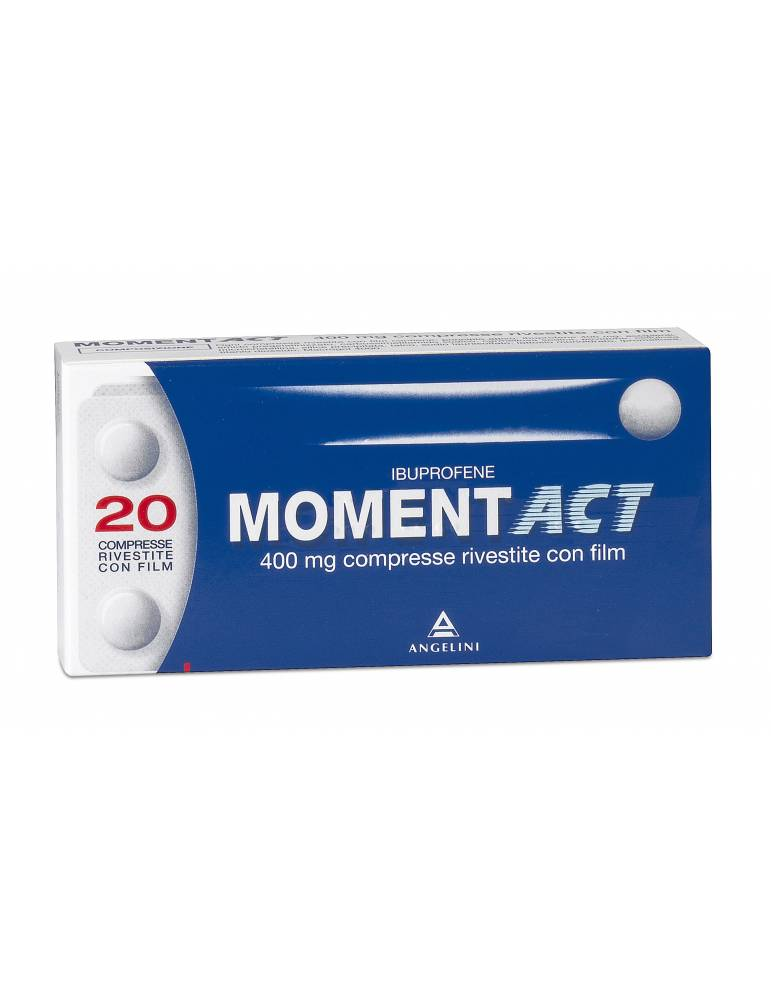 Moment Act 20 compresse rivestite 400mg Angelini035618053 Angelini