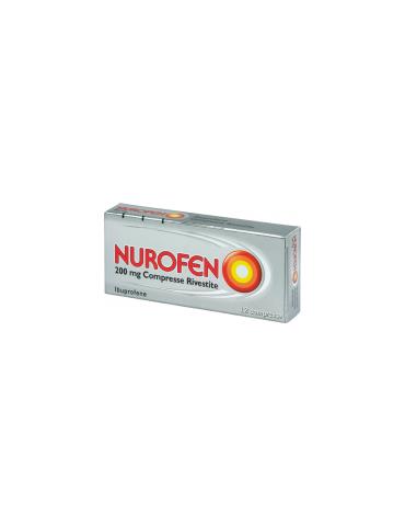 Nurofen 200mg antinfiammatorio 12 compresse rivestite 025634015