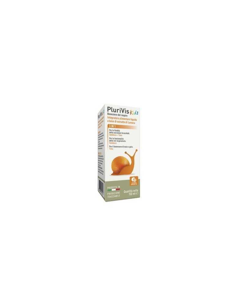 Plurivis 3 in 1 Kids sciroppo gusto arancia 150ml 974505149