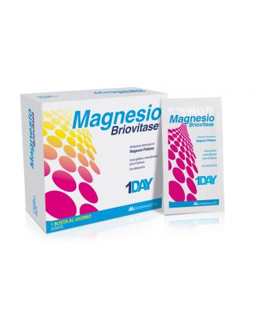Magnesio Briovitase Integratore Magnesio 20 bustine