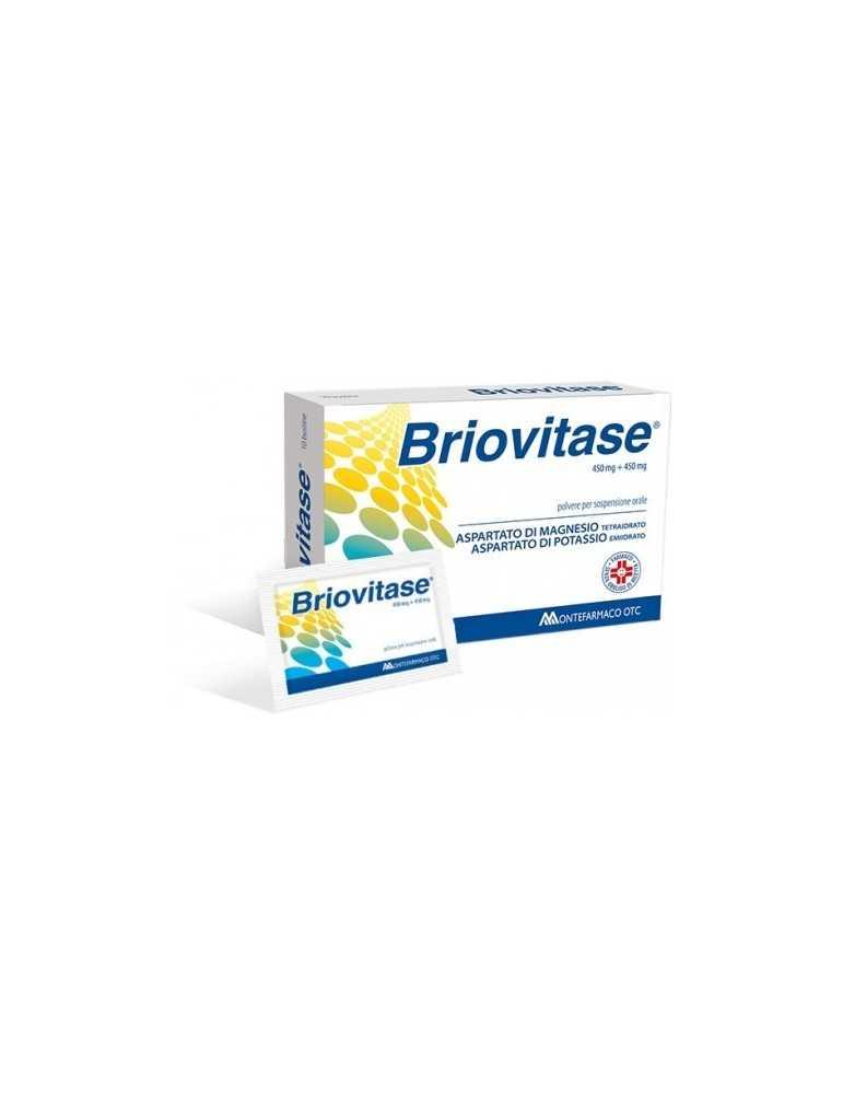 Briovitase 10 Bustine 450mg+450mg MONTEFARMACO OTC SpA 034535017 Integratori Salini