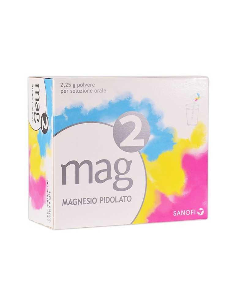 Mag2 Magnesio granulato per soluzione orale 20 bustine 2,25G SANOFI SpA 025519048 ALIMENTI E INTEGRATORI