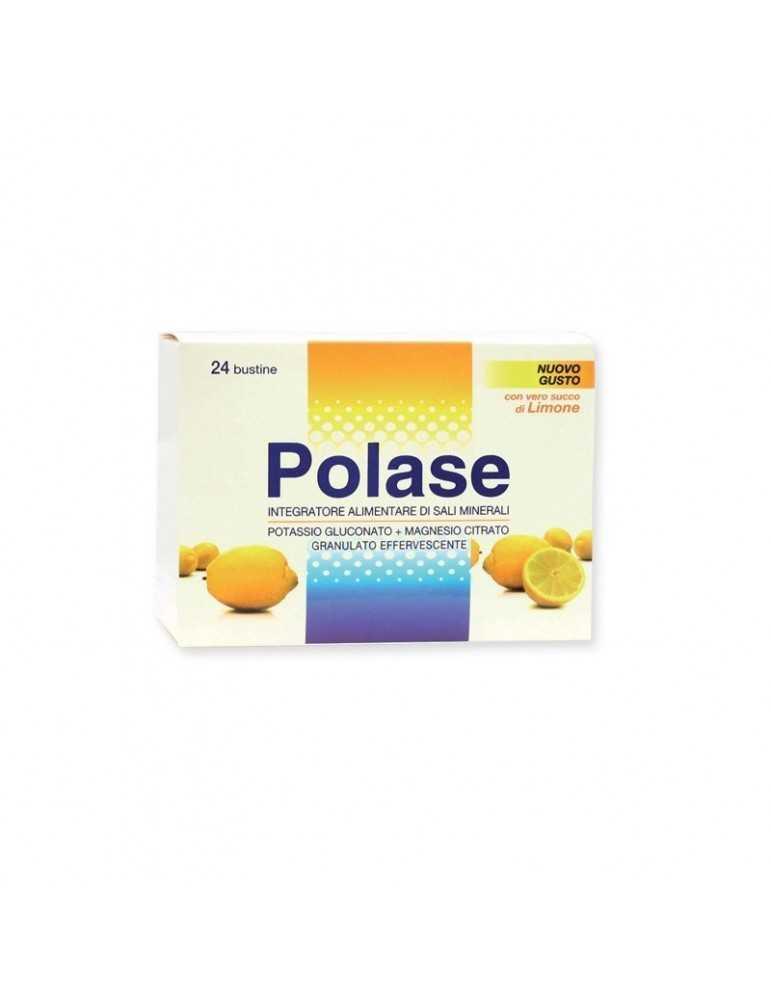 Polase integratore di potassio e magnesio Limone 24 bustine 933906354