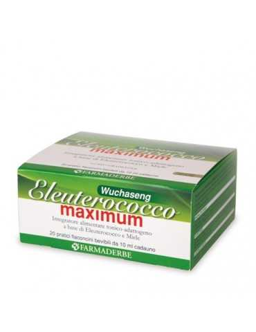 Eleuterococco Maximum 20fl Farmaderbe