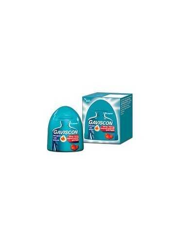 Gaviscon 16 compresse masticabili gusto fragola 250+133,5mg 024352231