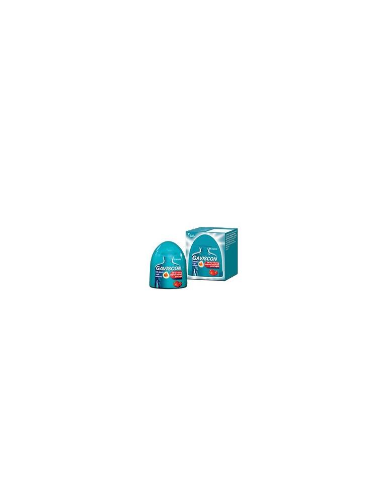 Gaviscon 16 compresse masticabili gusto fragola 250+133,5mg RECKITT BENCKISER H.(IT.) SpA 024352231