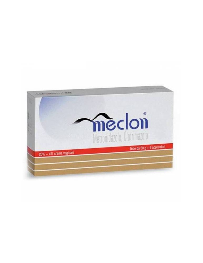 Meclon Crema Vaginale 30g 20 %+ 4 % + 6 Applicatori 023703046