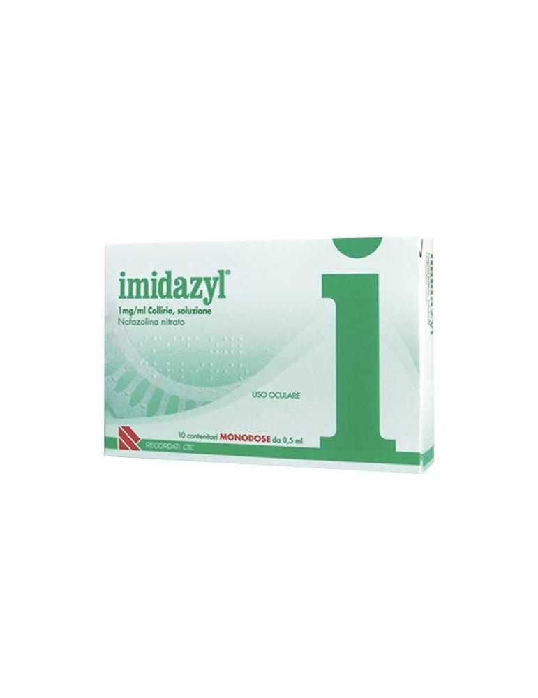 Imidazyl Collirio 10 Flaconcini Monodose 1mg/ml Recordati003410065 Recordati