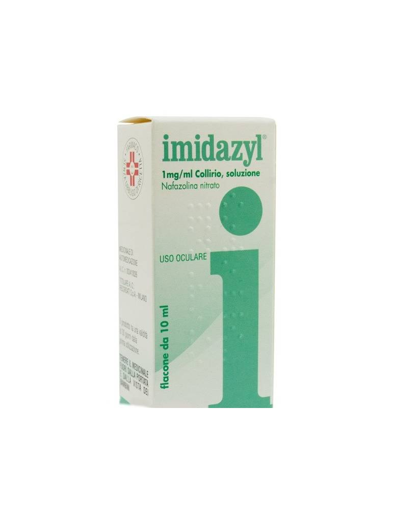 Imidazyl Collirio 10ml 0,1% Recordati