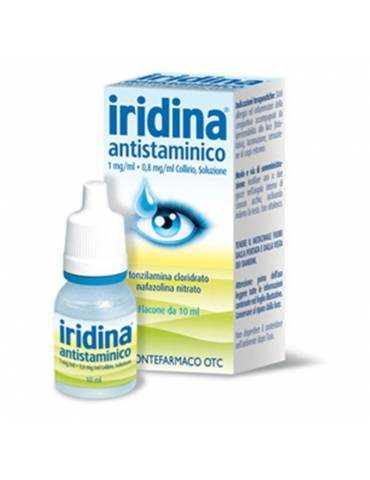 Iridina Antistaminico Collirio 10 mg + 8 mg 10 ml MONTEFARMACO OTC SpA 034281016
