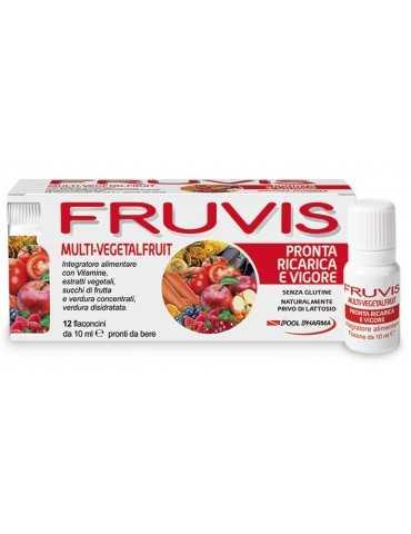 Fruvis Ricarica e Vigore 12fl Pool Pharma