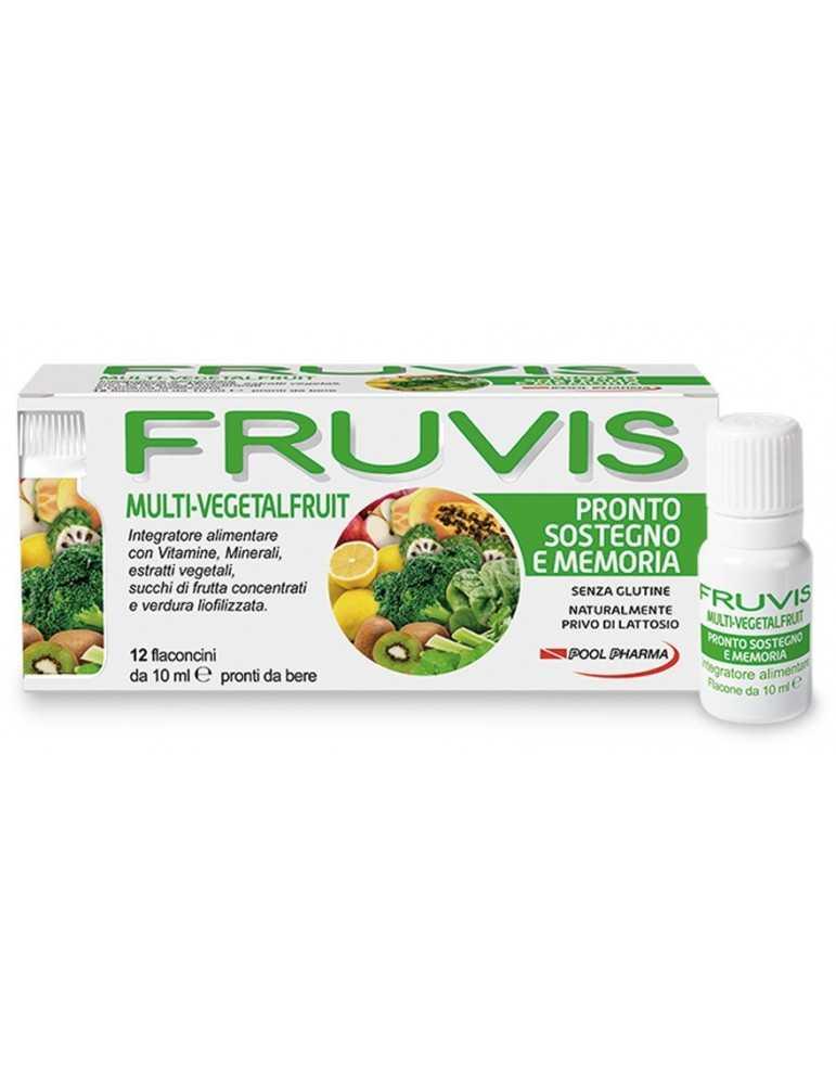 Fruvis Sostegno e Memoria 12fl Pool Pharma935839086 Pool Pharma