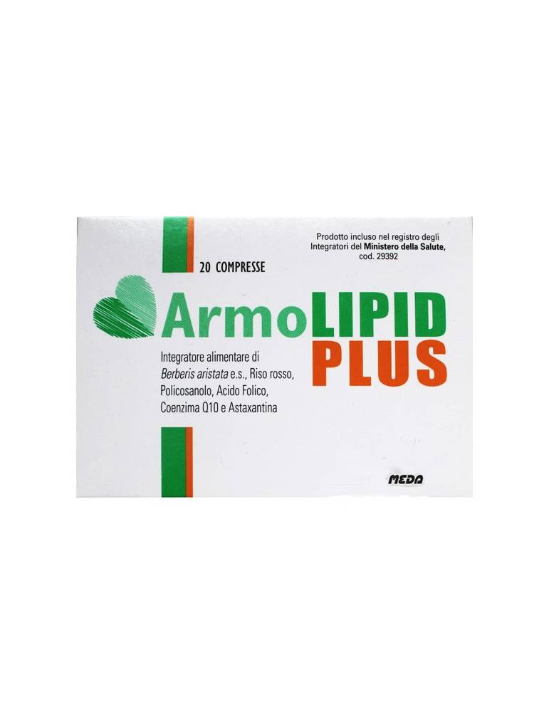 Armolipid PLUS protezione cardiovascolare naturale 60 cpr 935688945