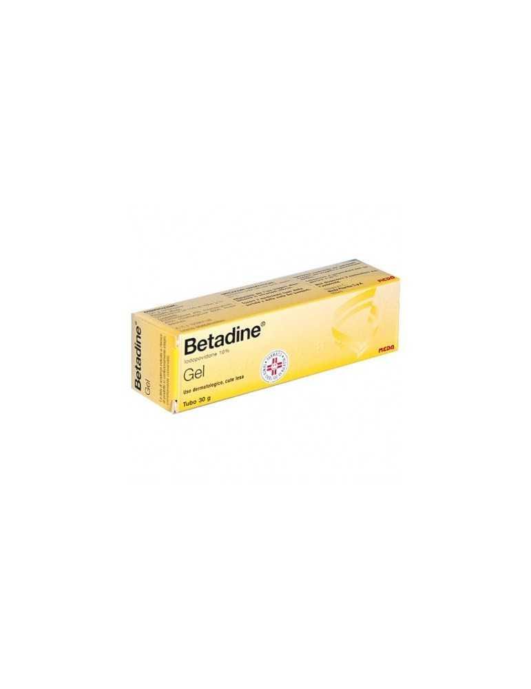 Betadine 10% gel antisettico 30g 023907126