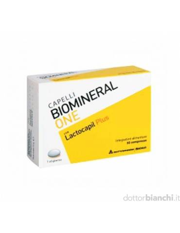Biomineral One 30 cpr rivestite integratore per capelli