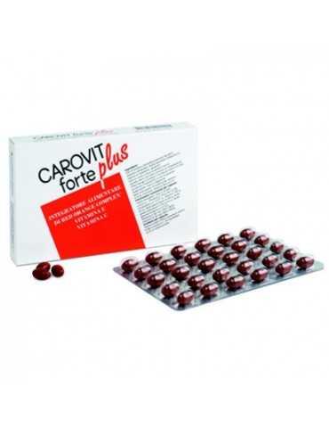 Carovit Forte Plus Integratore abbronzatura 30 cps Meda Pharma