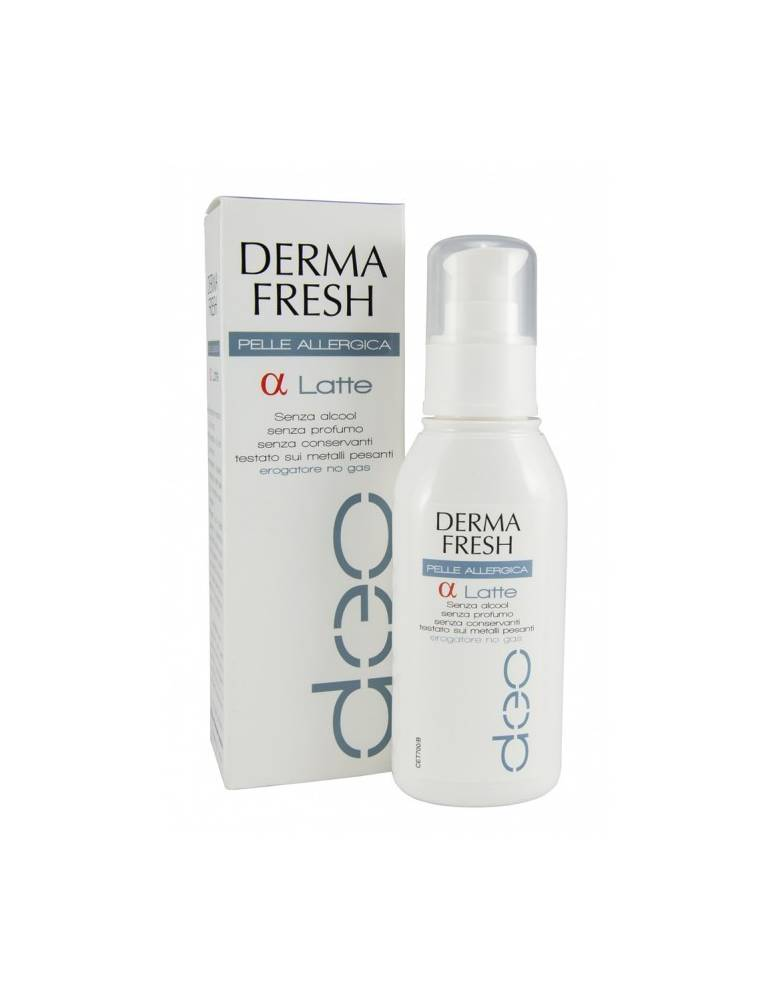 DermaFresh Deo pelle Allergica Latte 100ml Meda Pharma