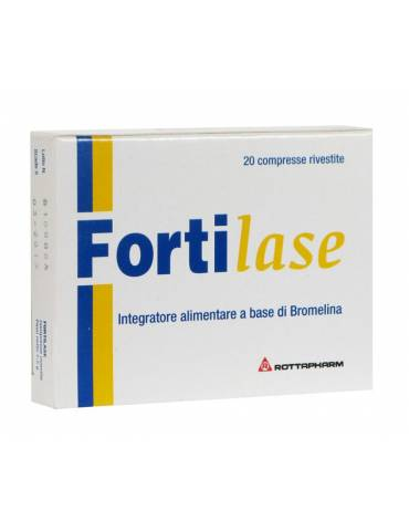Fortilase integratore alimentare a base di Bromelina 20 cpr MEDA PHARMA SpA905338051 MEDA PHARMA SpA
