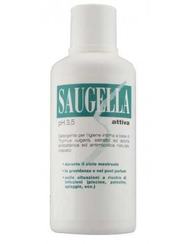 Saugella Attiva pH 3,5 detergente intimo 500ml MEDA PHARMA SpA930494152 MEDA PHARMA SpA