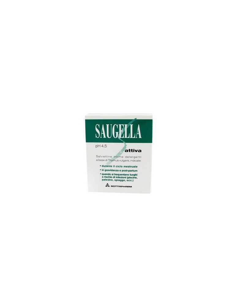 Saugella Attiva ph4.5 salviettine detergenti 10 pezzi MEDA PHARMA SpA901297440 MEDA PHARMA SpA