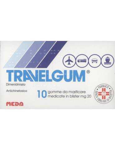 Travelgum antiemetico 10 gomme masticabili 005170028
