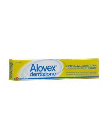 Alovex dentizione gel primi dentini 10ml Recordati