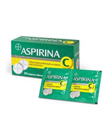 Aspirina C10 Compresse Effervescenti 400+240mg