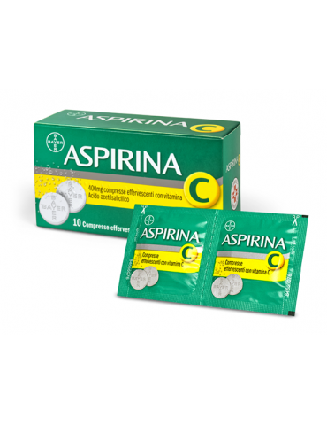 Aspirina C20 Compresse Effervescenti 400+240mg 004763330