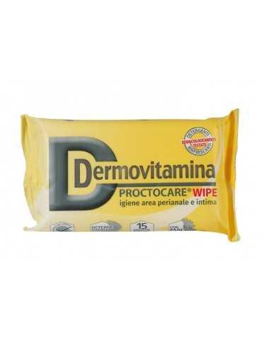 Dermovitamina Proctocare Wipe Salviette per l'igiene intima 15 pezzi 935818587