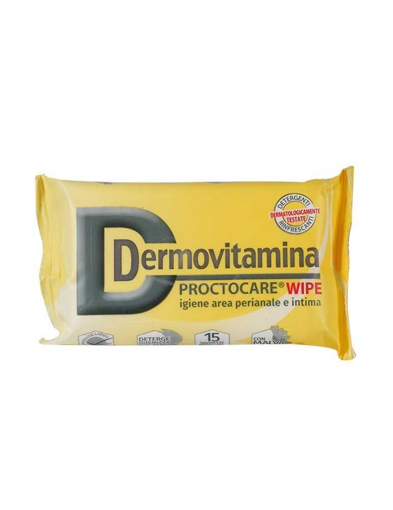 Dermovitamina Proctocare Wipe Salviette per l'igiene intima 15 pezzi Pasquali srl 935818587 Igiene Intima
