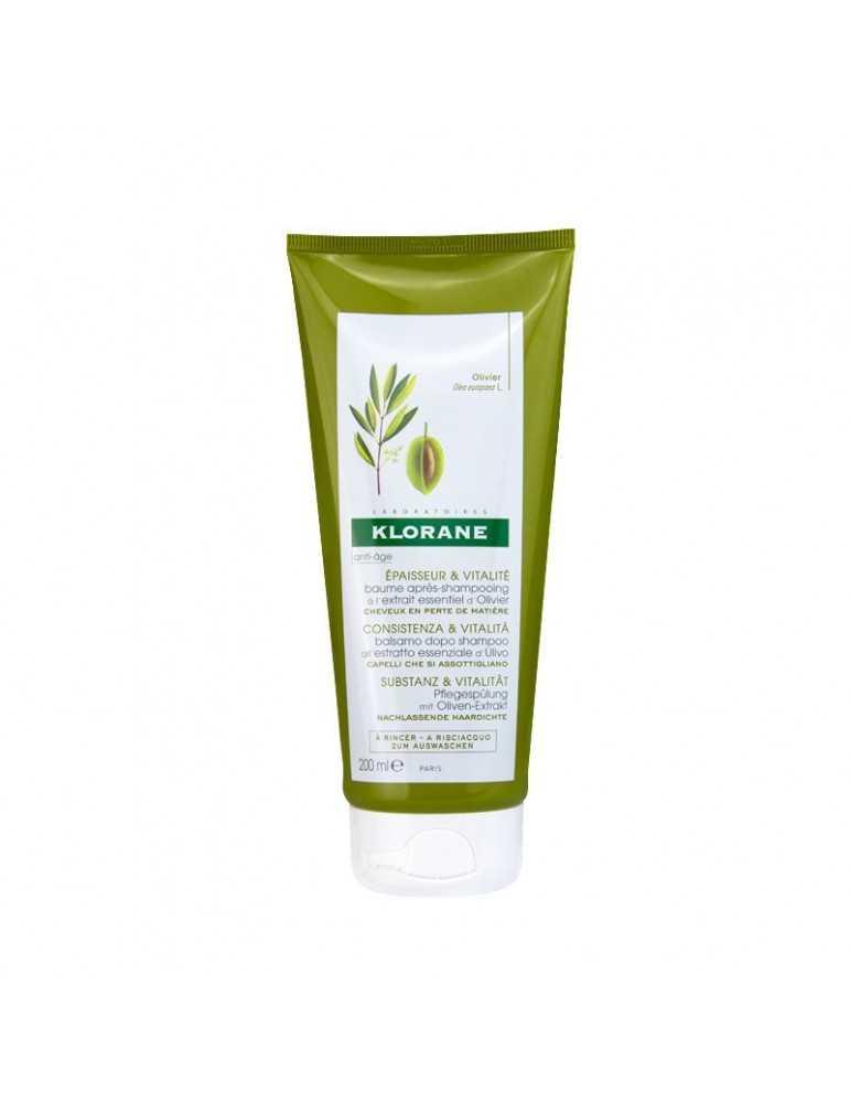 Klorane Balsamo dopo shampoo consistenza e vitalità all'estratto di ulivo 50ml 971325028
