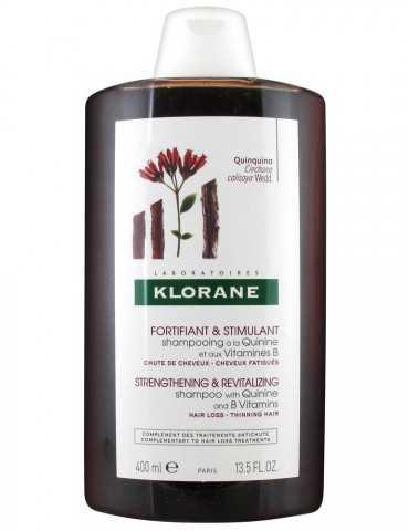 Klorane Shampoo Fortificante e Stimolante Chinina e Vitamina B 400 ml Klorane (Pierre Fabre)
