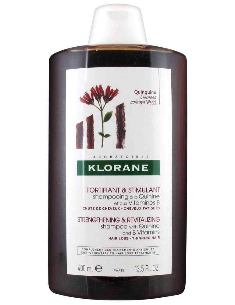Klorane Shampoo Fortificante e Stimolante Chinina e Vitamina B 400 ml KLORANE (Pierre Fabre It. SpA) 902567647