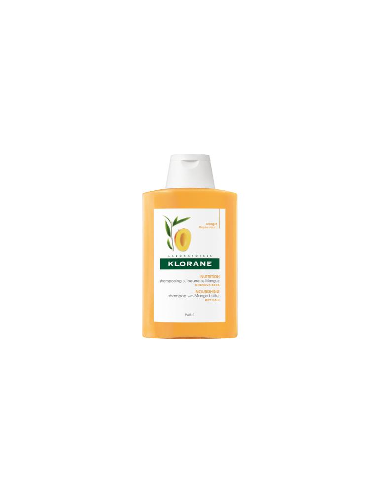 Klorane Shampoo Trattante Nutritivo al burro di Mango 400ml KLORANE (Pierre Fabre It. SpA) 903990529