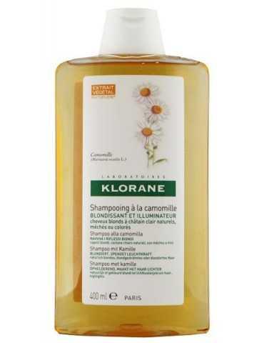 Klorane Shampoo Riflessi Dorati all'estratto di Camomilla 400ml 902506498