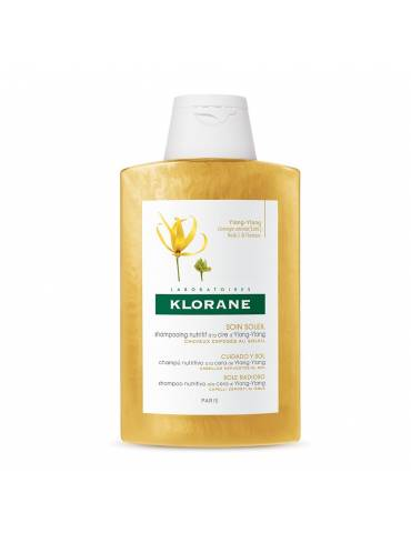 Klorane Shampoo alla cera di ylang ylang per capelli secchi 200ml KLORANE (Pierre Fabre It. SpA)973592443 KLORANE (Pierre Fab...