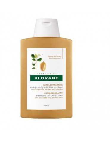 Klorane Shampoo al Dattero del Deserto nutri-riparatore 400 ml 934557152
