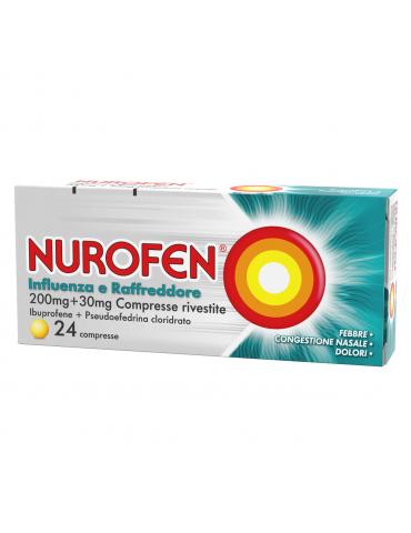 Nurofen Influenza e Raffreddore 24 compresse 034246025