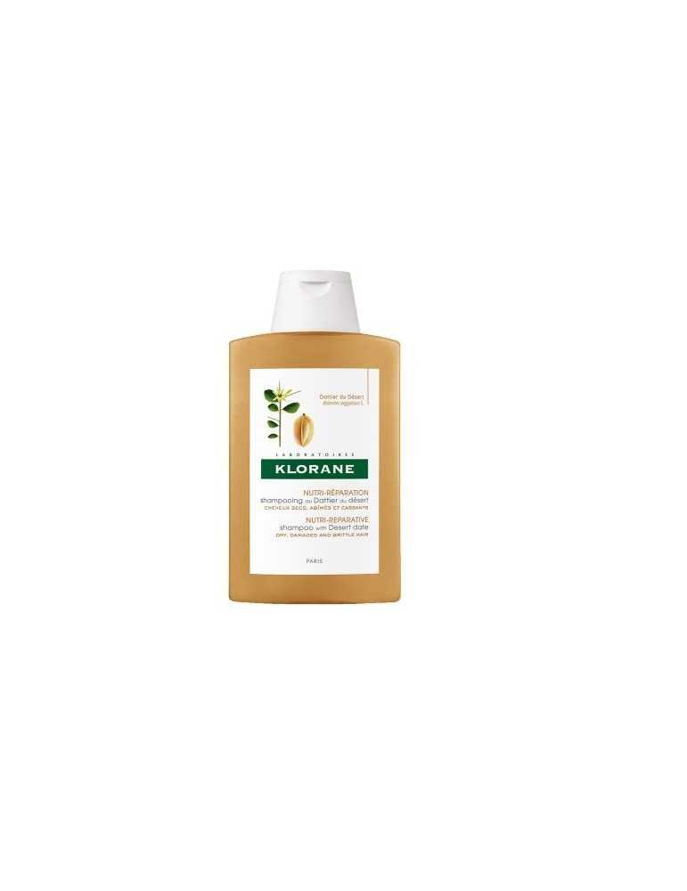 Klorane Shampoo al Dattero del Deserto nutri-riparatore 200ml Klorane (Pierre Fabre)