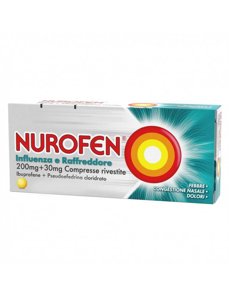 Nurofen Influenza e Raffreddore 12 compresse 034246013