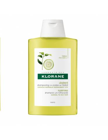 Klorane Shampoo alla polpa di cedro 400ml KLORANE (Pierre Fabre It. SpA)903092219 KLORANE (Pierre Fabre It. SpA)