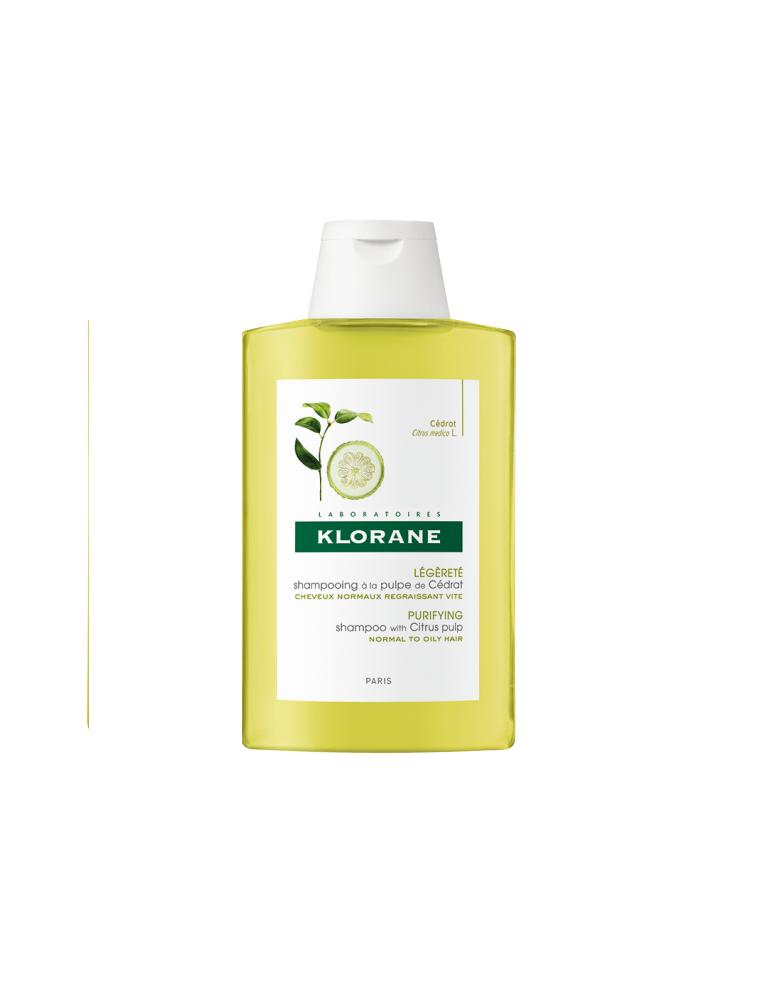 Klorane Shampoo alla polpa di cedro 200ml 900034570