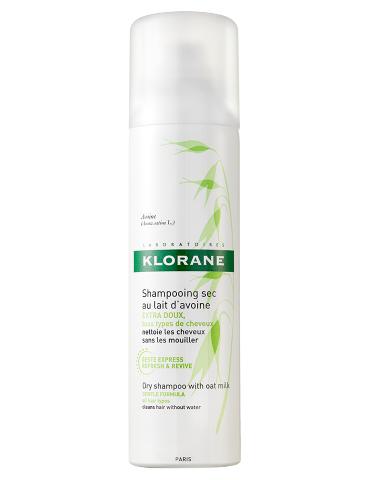 Klorane Shampoo Secco al latte d'Avena extra-delicato per tutti i capelli 150ml KLORANE (Pierre Fabre It. SpA) 904011261